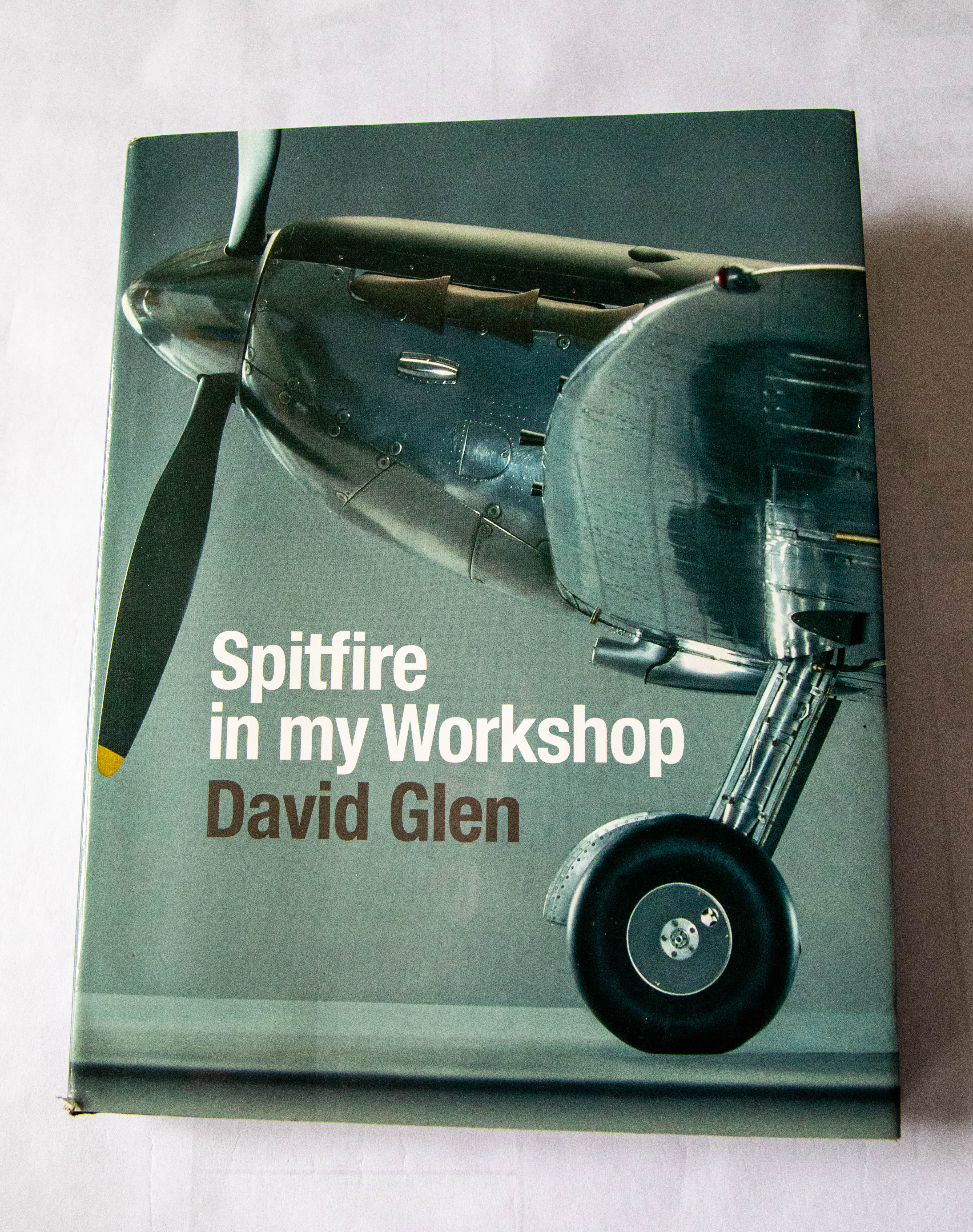 Spitfire in my Workshop