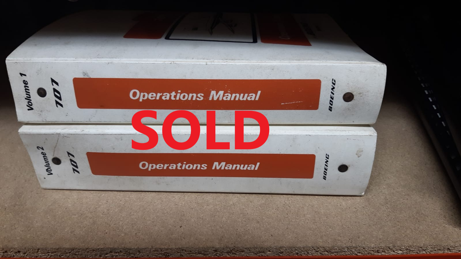 Sudan Airways  B707 Operations Manuals