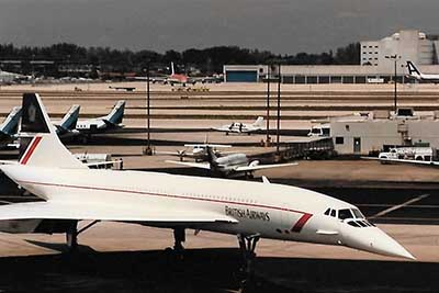 Concorde at Miami