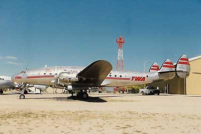 Lockheed Constellation at Pima Air Museum, Arizona